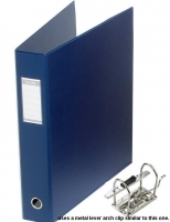 Bantex Lever Arch Binder A3 Upright 65mm (500p) 1467-A01 Blue