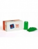 Avery Shipping Tags BX1000 No 6 Green (67x134mm) 16130