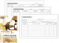 Zions Log & Travel Expenses Book VTED