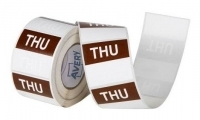Avery Food Rotation Label 40mm THURSDAY Removable 500/Roll