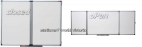 NOBO Confidential Whiteboard Non-Magnetic 1200x900 (Closed)