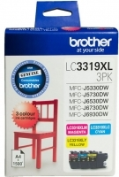 Brother Ink Cartridge LC3319XL CMY Colour Pack