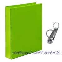 Marbig Insert Binder A4 2D 25mm (200page) Lime Green