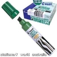 Pilot SCA-6600 Jumbo Chisel-Tip Marker 619204 Green BX12