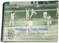 COLLINS CRICKET SCORE BOOK 247x330mm 56innings Wiro CSW