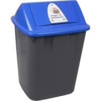 Italplast Waste Separation System Bin 32L Paper & Cardboard