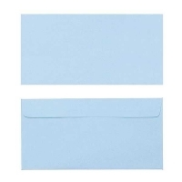 Quill Envelope 80gsm DL 110x220 Pack 25 - Powder Blue