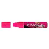 Texta Jumbo Liquid Chalk Wet Wipe Marker 15mm Pink