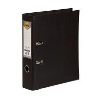MARBIG PE LINEN LEVER Arch File A4 Black BX10