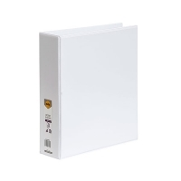 Marbig Clearview Insert Binder A4 2D 50mm (400page) White BX12