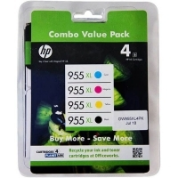 HP 955XL Ink Cartridge 2PD46A Value Pack