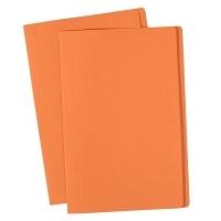 Avery Manilla Folders Coloured Fcap  BX100 Orange