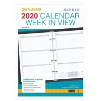 Dayplanner Refills EX5700 A4 Weekly Dated 2020