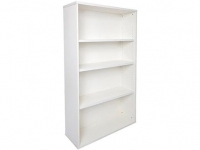 Rapid Vibe Bookcase H1200xW900xD315mm Light Grey
