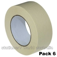 Kwikmask 60 General Purpose Masking Tape 48mm x 50M PK6