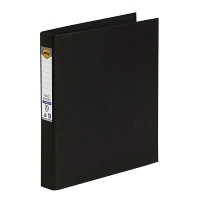 Marbig Ring Binder A4 25mm 2R 25mm PE Linen Black