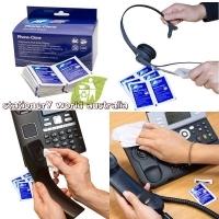 Cleaner AF Phone Clene Hygiene Wipes 125x190 BX100 PHC100