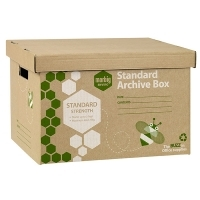 Marbig Enviro Archive Box 80020F 100% Recycled Pack of 5