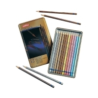 Derwent Metallic Pencils Collection tin12 Full range R0700456