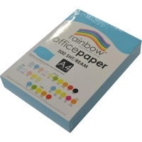 Rainbow Colour Copy Paper A4 80gsm Blue (ream-500sheets)