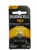Duracell Battery 76A 1.5V LR44 PK1