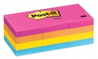 3M Post It Notes 653AN Neon PK12