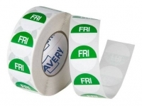 Avery Food Rotation Label 24mm FRIDAY Removable 1000/Roll