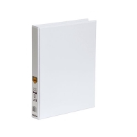 Marbig Clearview Insert Binder A4 3D 25mm (200page) White BX20