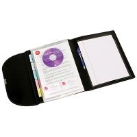 Marbig A4 Compendium 5 Pocket Black 90069