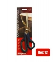 Belgrave Soft Grip Scissors SC3 Stainless Steel 215mm BX12