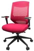 Vogue Mesh Mid Back Office Chair W04M Red