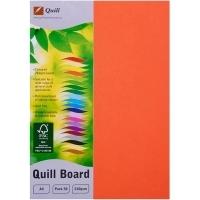 Quill Board A4 210gsm 90311 Pack 50 - Orange
