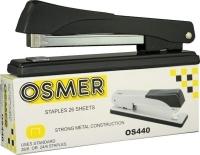 Osmer OS440 Metal Full Strip Desk Stapler Black