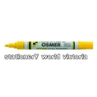 Osmer Paint Marker Quick Dry BX12 (2.5mm) 2907 Yellow