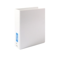 Bantex Insert Binder A4 4D 65mm (500page) White