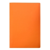 Marbig Manilla Folders Coloured Fcap BX100 Orange