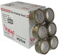 Vibac PP30 Packaging Tape 48mm x 75M Brown (BX36 rolls)