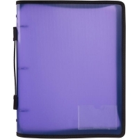 Marbig Zipper Binder A4 3R 25mm Purple