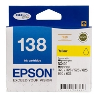 Epson Ink Cartridge 138 Yellow