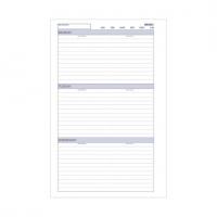 Dayplanner Refills DK1016 216x140mm Weekly UNDATED