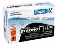Rapid Staples 73/6 6mm Box 5000