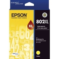 Epson 802XL Ink Cartridge Yellow