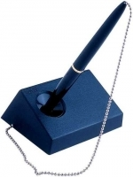 BIC Captive Pen & Chain Desk Set 10790