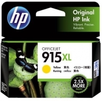HP 915XL Ink Cartridge Yellow  - 825 pages