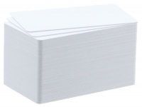 Badgy Cards 100/200 -Thin Plastic Blank Cards PK100 0.50mm-20mil