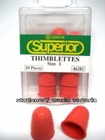 Esselte Superior Thimblette Thumb Grips No 1 (Medium) Red