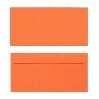 Quill Envelope 80gsm DL 110x220 Pack 25 - Orange