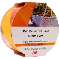 3M 7930 REFLECTIVE TAPE 50mm x 3M Yellow/Red