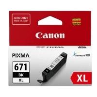 Canon Ink Cartridge CLI671XLBK (671BKXL) Black