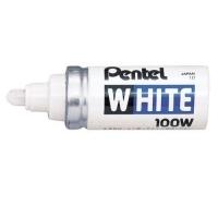 Pentel 100W Paint Marker White Bullet 6.5mm